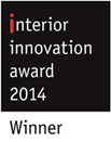 interior innovation award 2014 pour le poele Grappus