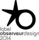label observeur du design 2014 pour le poele Grappus