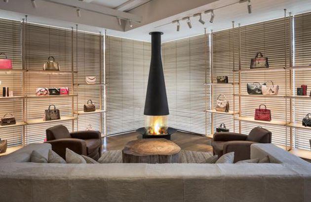 Zentrale Designkamine Filiofocus showroom louis vuitton  Melbourne
